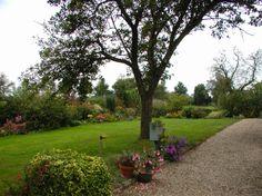 Rodenburg tuinen boerderijtuin bij een landgoed gebakken