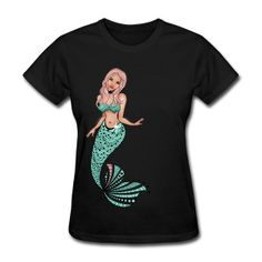 Mermaid T-Shirts for women, men and kids from South Seas Tees
