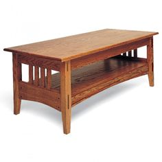 Mission Style Coffee, End and Sofa Tables Plan - Rockler Woodworking Tools