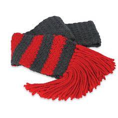 Cedar Lodge Striped #Crochet #Scarf #MichaelsStores