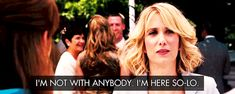 Pin for Later: 19 Kristen Wiig Moments From Bridesmaids That Are Literally You When She's Single and Ready to Mingle (Sort Of)