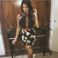 Ideas For Party Outfit Women House Party Outfits For Women, Hot Outfits, Holiday Outfits, Skirt Outfits, Party Fashion, Love Fashion, Girl Fashion, Womens Fashion, Classy Dress