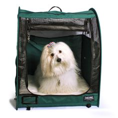 Show Shelter Single: portable pop-up is designed with the pet exhibitor in mind. The Show Shelter is our most popular mid-sized portable pop-up shelter. Show Shelter is the standard for many cat and dog exhibitors. Award winning design, preferred by pet professionals!