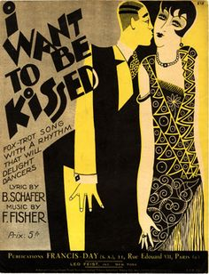 I want to be kissed, 1926 (ill.: Fabien Loris); ref. 12708