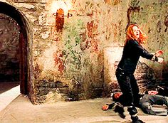 Drew Barrymore moonwalkin' out of here.