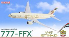 "56382 - Etihad Cargo 777F ""Crystal Cargo"" - Dragon Wings Airliners"