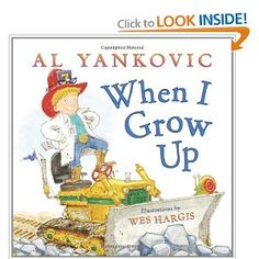 I read this to the class then we wrote about what we wanted to be when we grow up!  Fun!