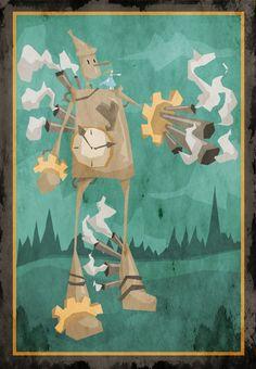 steampunk tin man
