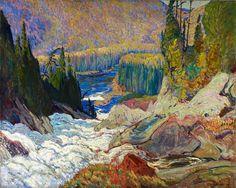 J. E. H. MacDonald, Falls, Montreal River, 1920
