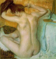 Degas - Combing Hair