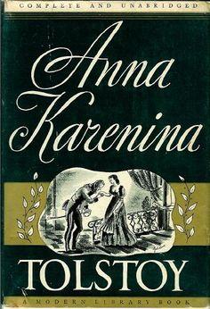Anna Karenina.  Modern Library.  Art by Paul Galdone.