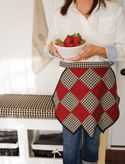 FREE PROJECT: Kitchen Charm Apron (from Sew-it...today Magazine)