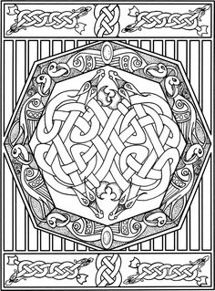 Welcome To Dover Publications Creative Haven Celtic Designs Coloring Book