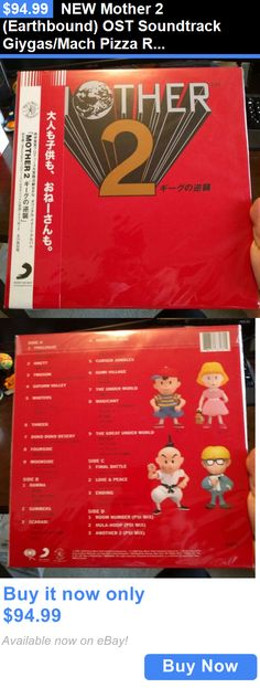 Music Albums: New Mother 2 (Earthbound) Ost Soundtrack Giygas/Mach Pizza Rare Vinyl Lp Record BUY IT NOW ONLY: $94.99