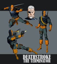 deathstroke | DEATHSTROKE THE TERMINATOR ANIMATED by CHUBETO on deviantART