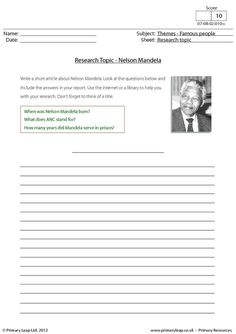 why was nelson mandela so important in south africa worksheet and powerpoint nelson mandela. Black Bedroom Furniture Sets. Home Design Ideas
