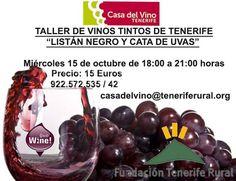 Taller de vinos con la variedad Listán negro.