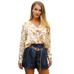 d0ff72eafb0 Blusas Femininas Summer 2019 Bluzki Damskie Boho Shirt Ladies Tops And Blouses  Women Blouse Long Sleeve