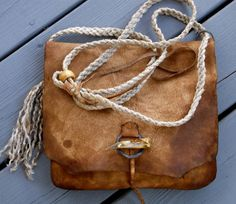 Distressed and Primitive Deer Tanned Cowhide Mountain by misstudy