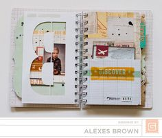 A Project by alexesmariebrown from our Scrapbooking Gallery originally submitted at PM Mini Scrapbook Albums, Mini Albums, Scrapbook Layouts, Minis, Art Journal Inspiration, Creative Inspiration, Journal Ideas, Glue Book, Art Journal Techniques