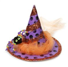 Paper Maché Festive #Witch Hat #Halloween #MichaelsStores