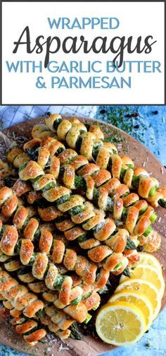 Asparagus Appetizer, Asparagus Recipe, Asparagus Wrapped In Bacon, Baked Asparagus, Lord Byron, Easy Cooking, Cooking Recipes, Tapas, Asparagus Spears
