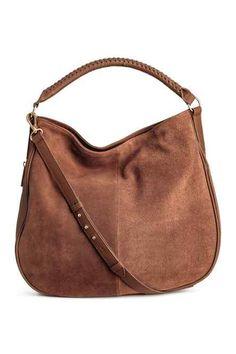 Señoras Suave Cuero Real Bolso Shopper Bolso de hombro para mujeres y niñas Slouch