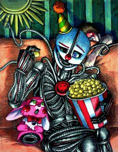 Let's watch / FNaF SL by Mizuki-T-A.deviantart.com on @DeviantArt
