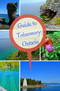 Are you looking for an incredible Ontario road trip this summer? Head up the Bruce Peninsula to Tobermory. In this Tobermory Guide you'll discover all there is to do in this nature lovers paradise in Ontario, Canada Alberta Canada, Tobermory Ontario, Tobermory Canada, American Express Rewards, Vancouver, Stuff To Do, Things To Do, Ontario Travel, Girls Love Travel