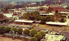 Fotos de Tapachula, Chiapas, México: Antigüa vista del Parque Hidalgo (Hoy Presidencia Municipal) Tapachula Antiguo