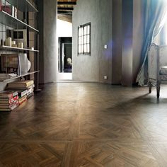 parquet look porcelain tiles Parquet Tiles, Wood Parquet, Wood Tile Floors, Parquet Flooring, Timber Tiles, Brick Look Tile, Marble Look Tile, Wood Floor Pattern, Porcelain Wood Tile
