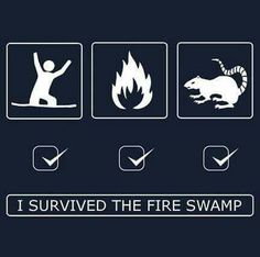 Fire swamp