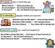 Using The Present Perfect Tense in English - ESLBuzz Learning English English Tenses Chart, English Verbs, English Fun, English Writing, English Study, English Class, English Lessons, English Teachers, British English
