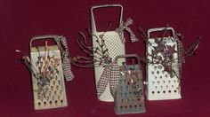 Who knew old graters could be so cool!