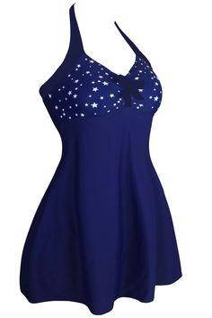 Ellady Polka Dot One-piece Swimdress