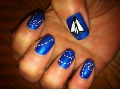 nail art - can't help but like this one