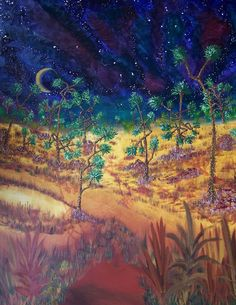 """""""Joshua Dancing""""  -   36x48  -   Acrylic on canvas  -  2010"""