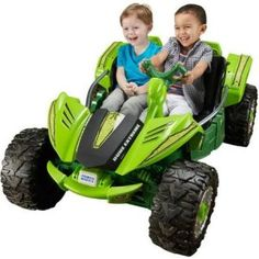 Fisher Price Power Wheels Dune Racer Extreme 12 Volt Battery-Powered Ride On New Kids Ride On Toys, Kids Toys, Toy Trucks, Monster Trucks, Optima Car, Green Toys, Power Wheels, Kids Bike, Dune