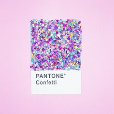 Confetti *is* a color. #flashesofdelight {by @cestmaria}
