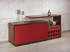 Aparador bar Plaza. produto multifuncional
