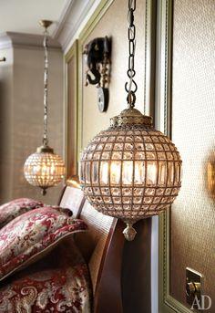 Photo 06 Lampe Lanterne, Lampe De Chevet, Salon Victorien, Chambre  Orientale
