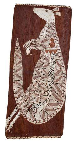 Yirawala Master Bark Painter | Aboriginal Bark Art