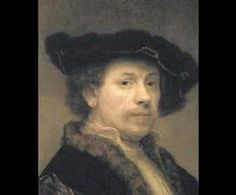 "Rembrandt's Self-Portraits: This ""morphing"" video is fascinating as we watch the Great Master move through the ages of his life."