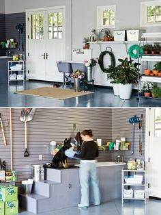Small grooming salon front desk and work station dog grooming rsvp garage ideasdog grooming solutioingenieria Gallery