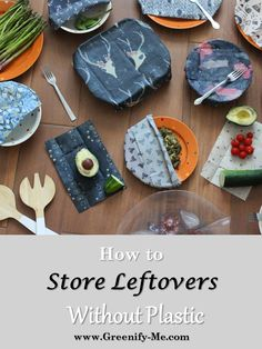 How to Store Leftovers without Plastic -  Do you know how to store leftovers without plastic? It's actually pretty easy: You just need the right tools for the job. My fridge is almost completely plastic-free now, thanks to some sustainable alternatives. Personally, I love beeswax wraps, cloth bowl covers, glassware and mason jars. They're perfect for crafting a zero waste kitchen!