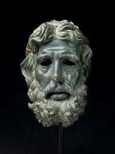 Head of Poseidon / Antigonos Doson   Hellenistic  DATE     227–221 BC  MEDIUM   Bronze  The Museum of Fine Arts, Houston