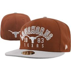 f6657501697 New Era Texas Longhorns Word Knock 59FIFTY Fitted Hat - Burnt Orange