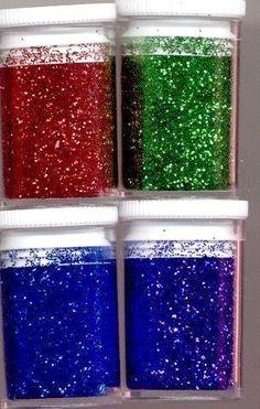 DIY glitters kerst