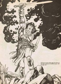 Cap'n's Comics: Conan by Gil Kane