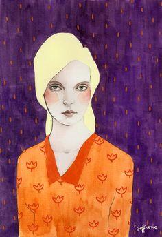 Sofia Bonati - Illustration - Zoe